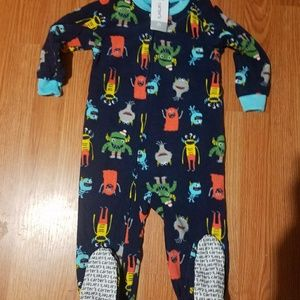 Carter's Fleece Footed Pajamas 2T
